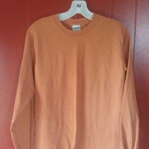 Comfort colors plain long sleeve tee